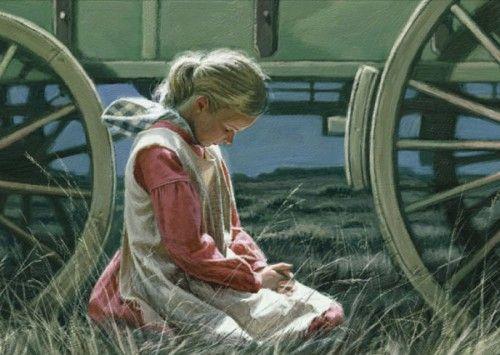 pioneer-girl-praying